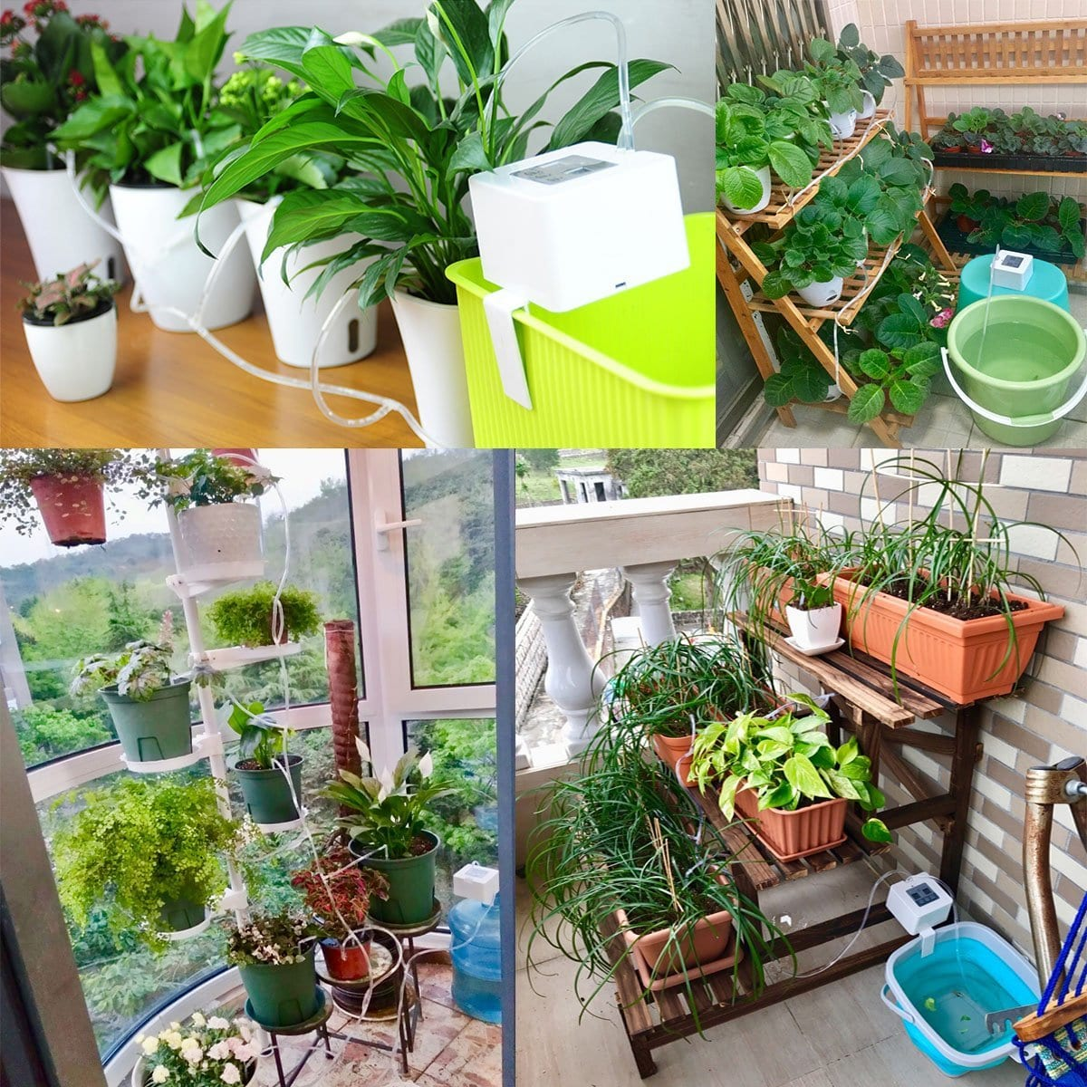 Indoor Potted Plants Vacation Plant Watering 7 Gadgets