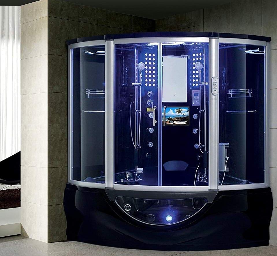 2020 Manhattan Luxury Computerized Steam Shower Sauna with ...
