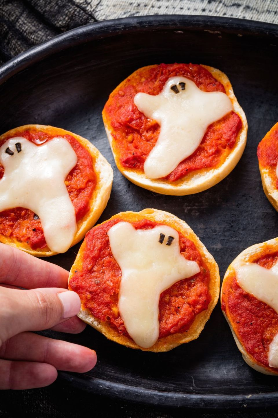 Ghost Pizza Bites
