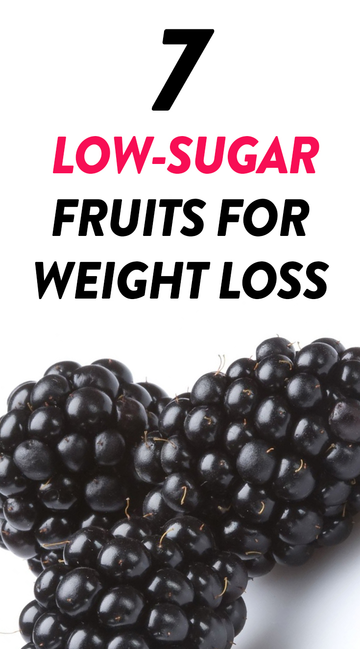 Best low sugar fruits for weight loss