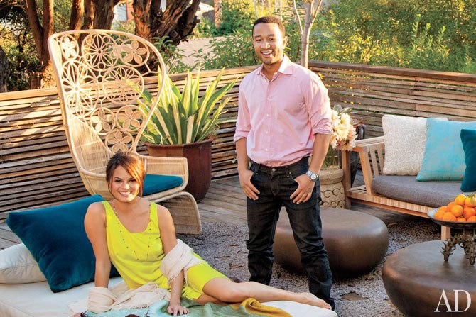John Legend and Chrissy Teigen's Los Angeles home