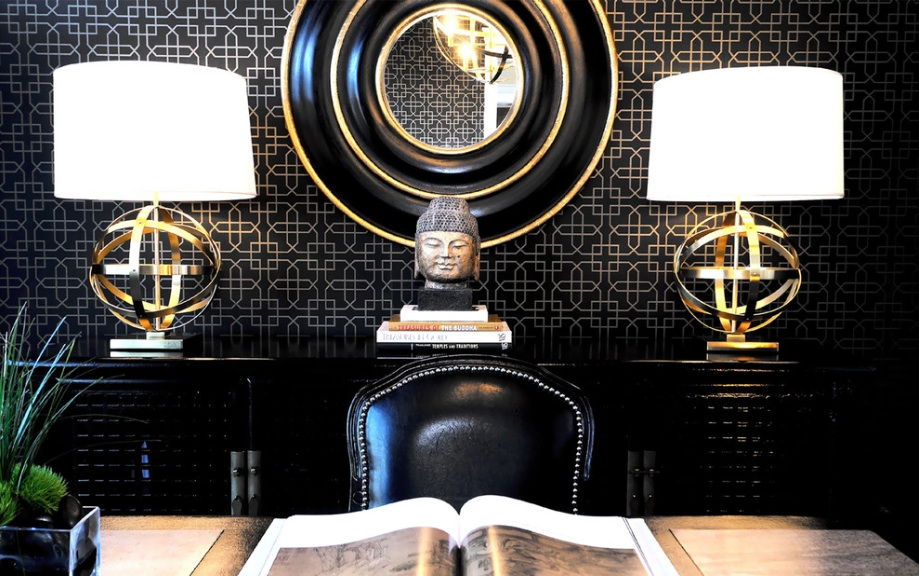 black-and-gold-room