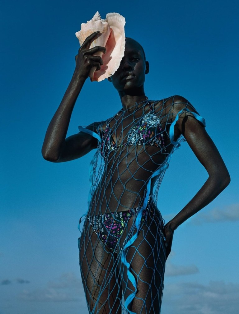 Grace Bol by Txema Yeste for Numéro May 2017