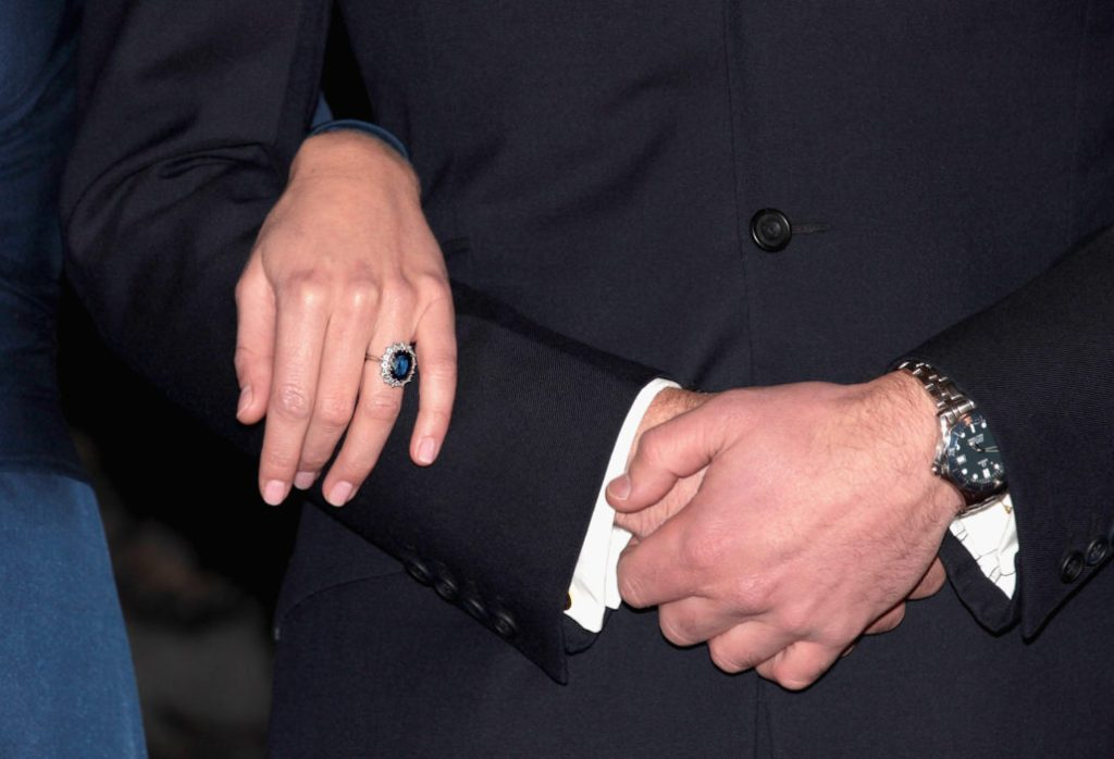 Prince William is much better at keeping his nails neat