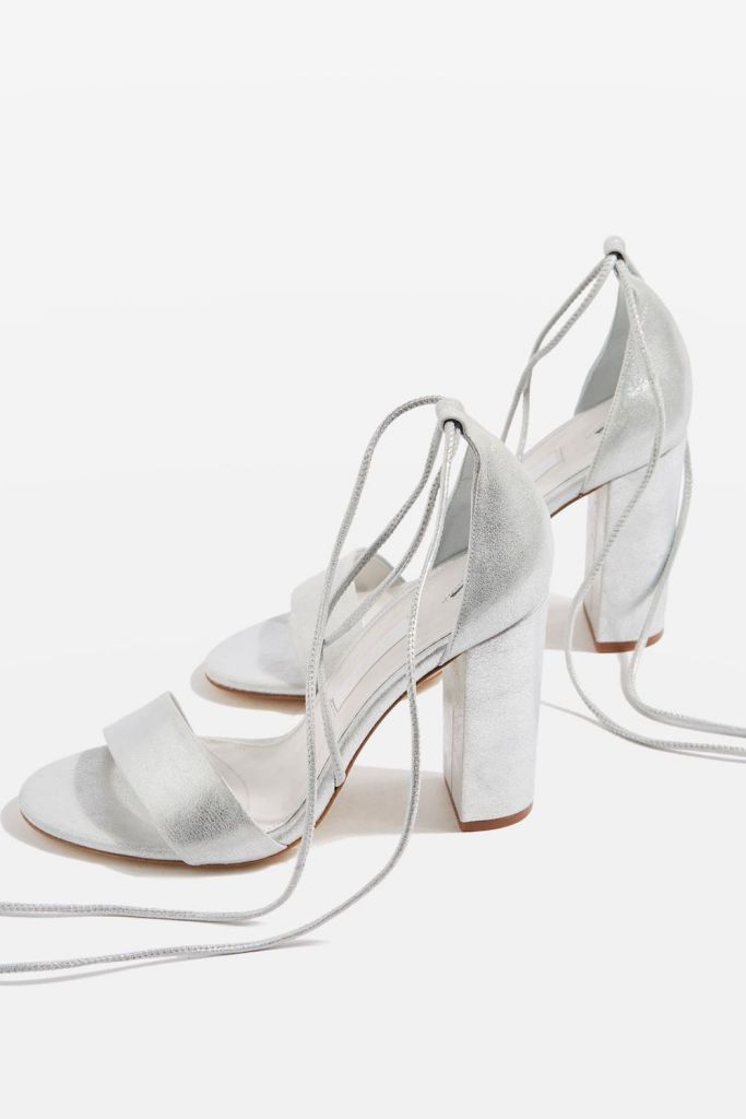 Beatrix Block Heel Sandals, $150 at Topshop