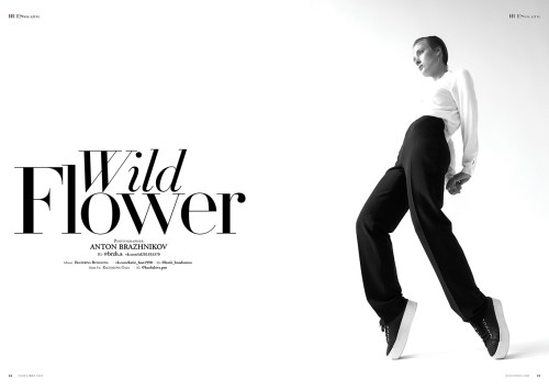 Wild Flower by Anton Brazhnikov for 7Hues Magazine #21