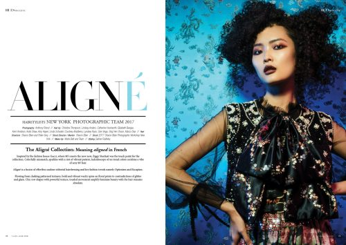 Aligne by New York Photographic Team for 7Hues Hair