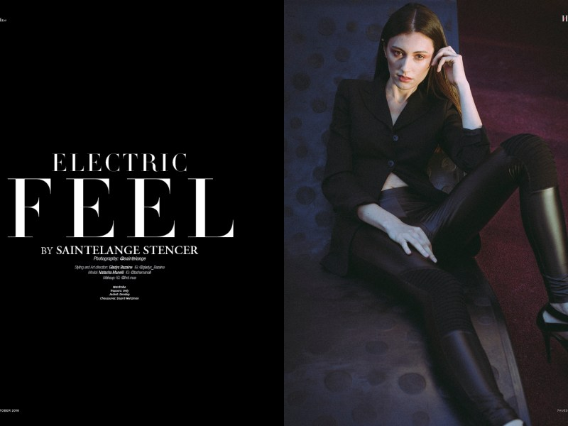 Electric Feel by Saintelange Stencer