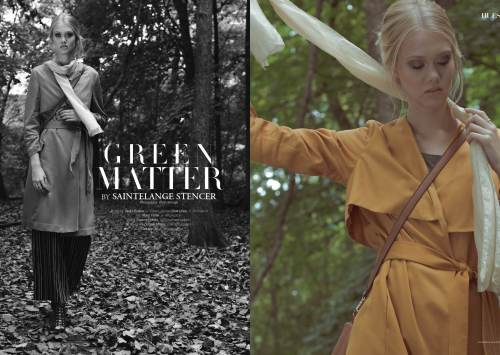 Green matter by Saintelange for 7Hues Online