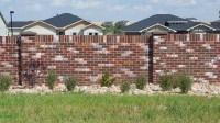 Precast Brick Fence & Walls | AFTEC
