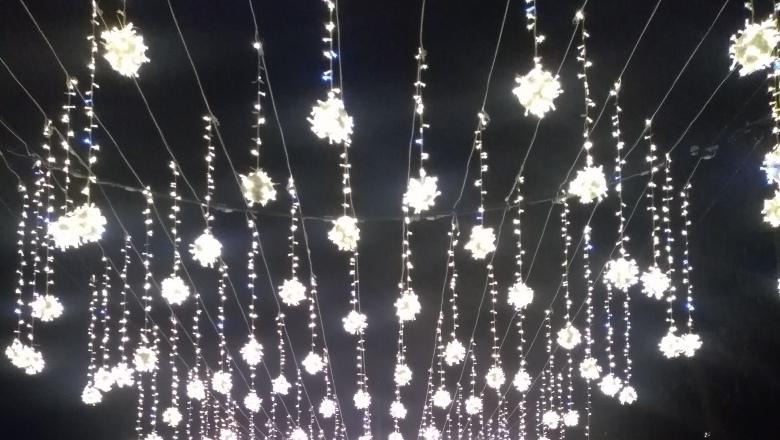 Новогоднюю подсветку в Рязани включат к 15 декабря