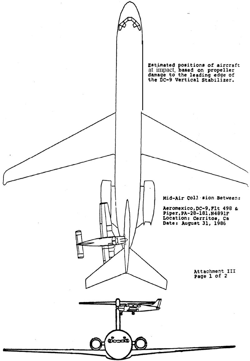 Столкновение самолетов над Серритосом