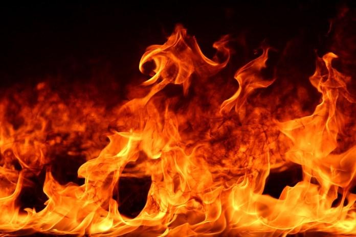 В результате пожара в Скопине погибла 75-летняя пенсионерка