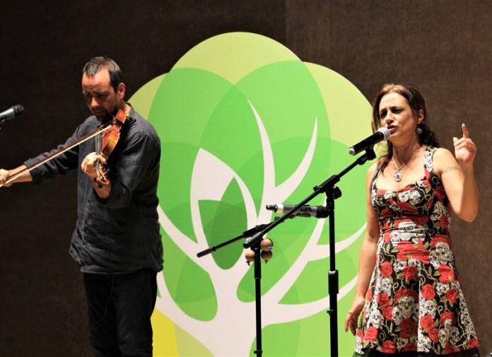 В Рязани выступила французско-испанская певица Жеральдин Торрес