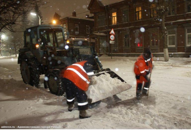 В Рязани утвердили карту персональной ответственности по уборке города