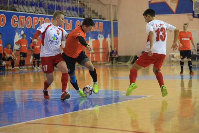 Рязанская команда сыграет очередные матчи в Первенстве СФФ «Центр» по мини-футболу