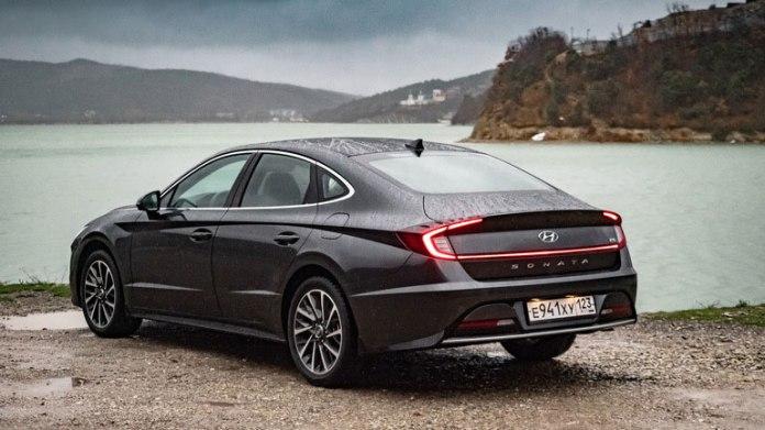 В Россию приехала новая Hyundai Sonata