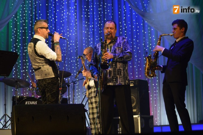 В Рязани состоялся большой концерт «Зимние дни джаза»