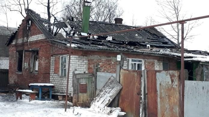 На пожаре в рязанском селе погиб мужчина