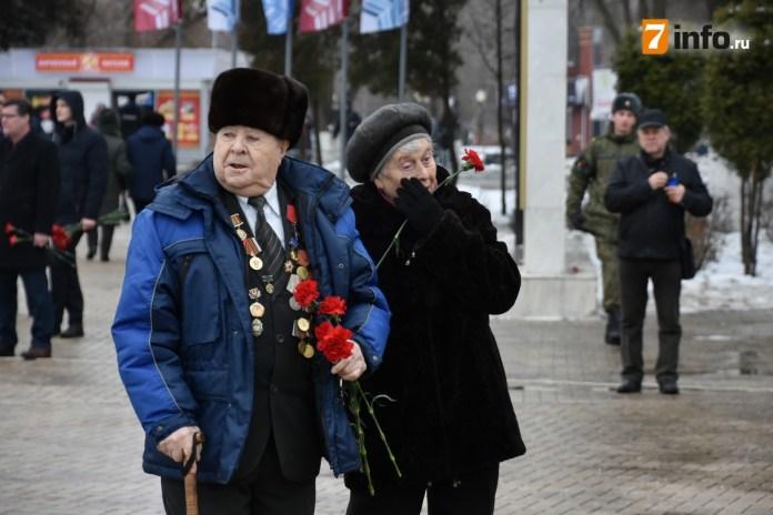 Рязанцы почтили память погибших в Сталинградской битве