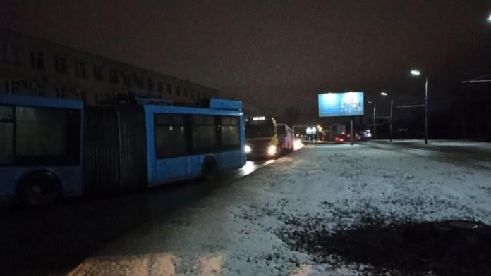 Ещё одна партия московских троллейбусов прибыла в Рязань
