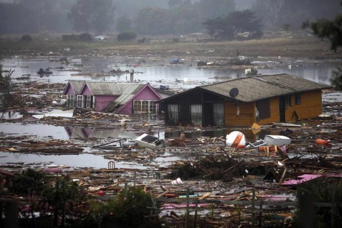 Мощное землетрясение произошло 10 лет назад в Чили