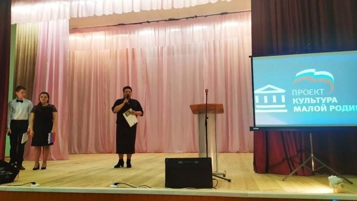 В Милославском районе капитально отремонтировали Чернавский сельский Дом культуры