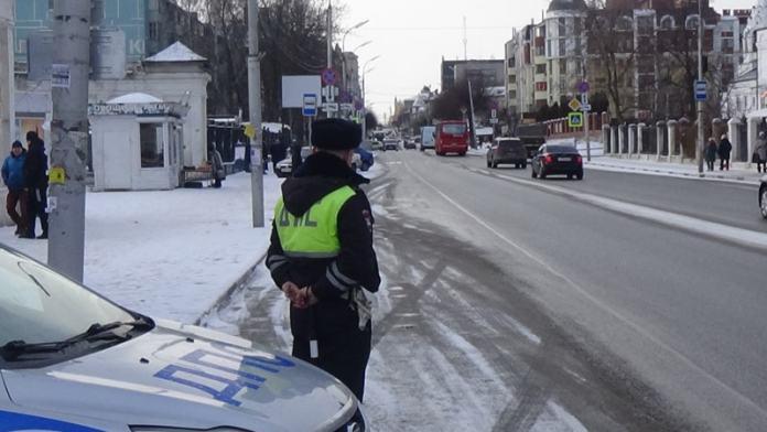 В Рязани прошёл масштабный рейд ГИБДД