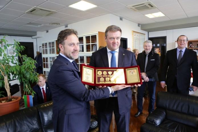 Николай Любимов: Рязанский регион готов экспортировать в Лигурию широкий спектр комплектующих изделий
