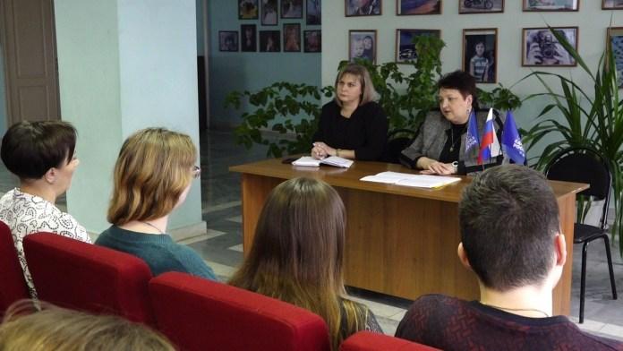 Елена Митина встретилась с родительским сообществом Михайловского района
