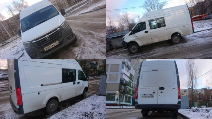 Новую «Газель» впервые заметили на дорогах России