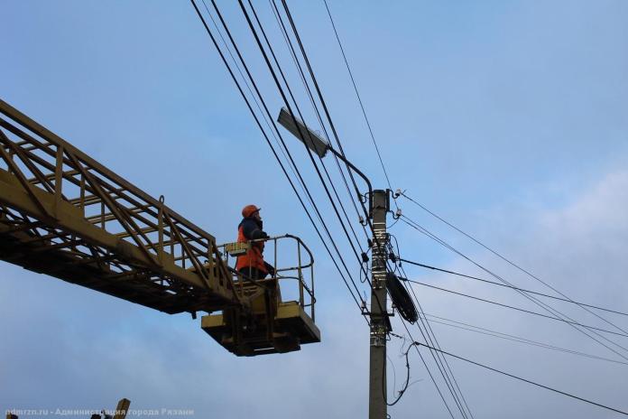 В среду в Рязани будут отключать электричество