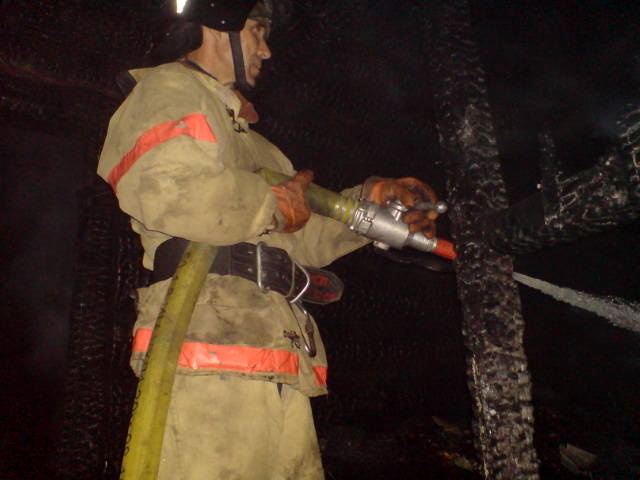 На пожаре в Рязани пострадали люди