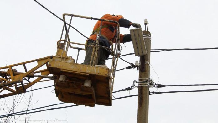 Во вторник в четырёх районах Рязанской области будут отключать электричество