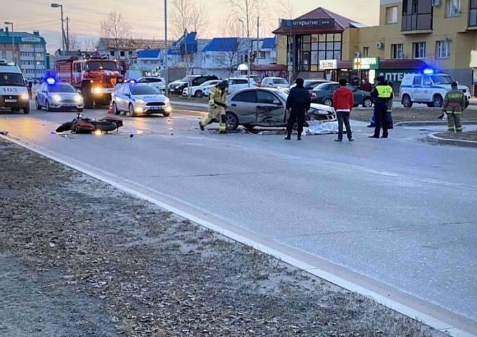 Молодой байкер разбился насмерть об авто в ЯНАО