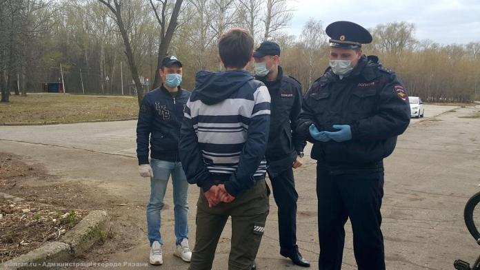 В Рязани продолжает работу «народный патруль»