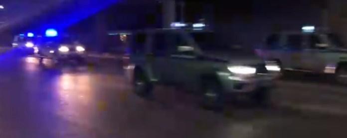 По Рязани проехала колонна полиции с сиренами