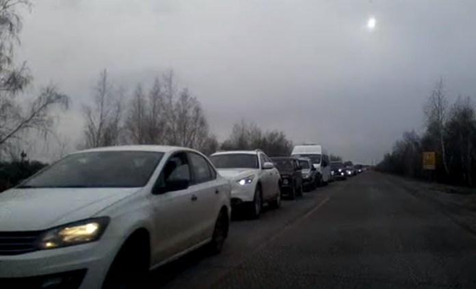 Русских раскритиковал чиновника за дорожный коллапс в Ульяновске
