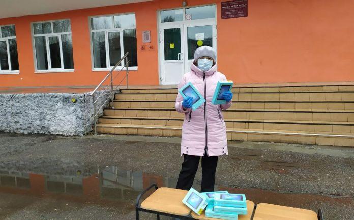Елена Митина приняла участие в программе «Помоги учиться дома»
