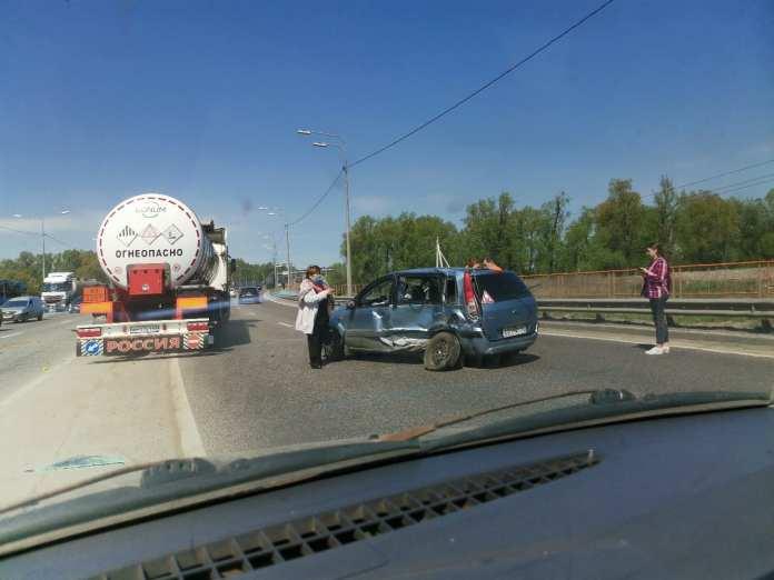 Серьезная авария произошла около Храпово
