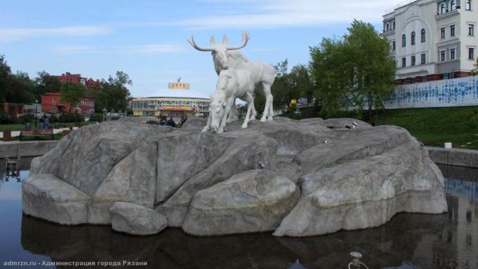 В Рязани готовят к открытию фонтаны