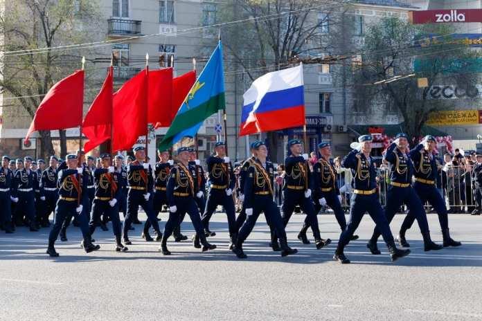 В Рязани встретят десантников, вернувшихся с Парада в Москве