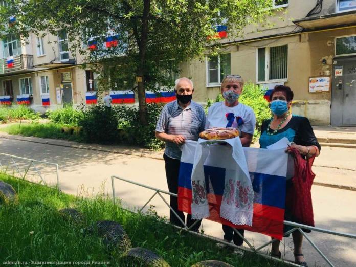 Рязань присоединилась к акции «Окна России»