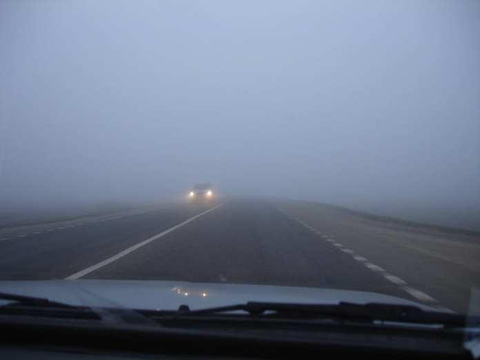 Рязанцев предупредили о сильном тумане