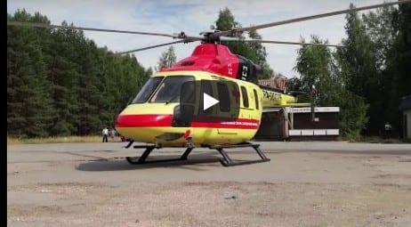 В Рязанской области вертолёт санавиации совершил первый рейс
