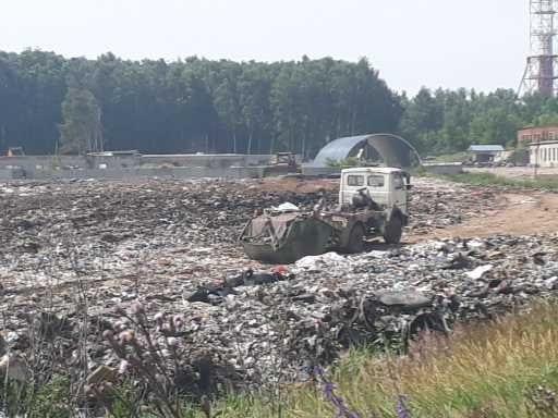 В рязанском посёлке Турлатово разрастается несанкционированная свалка