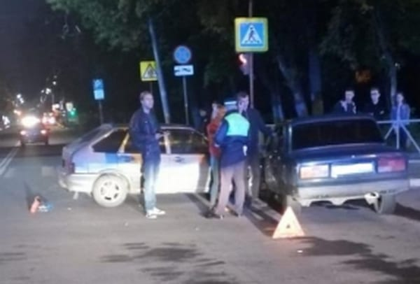 В ДТП на улице Гагарина в Рязани пострадали три человека