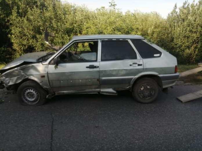Пьяный водитель улетел в кювет в Ухоловском районе