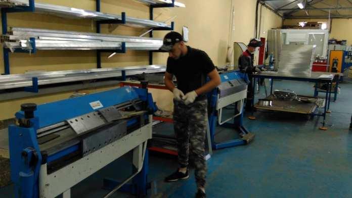 В Скопинском районе наладили производство вентиляционных решеток