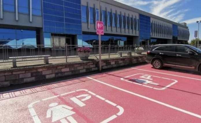 В Казани организовали парковку только для женщин